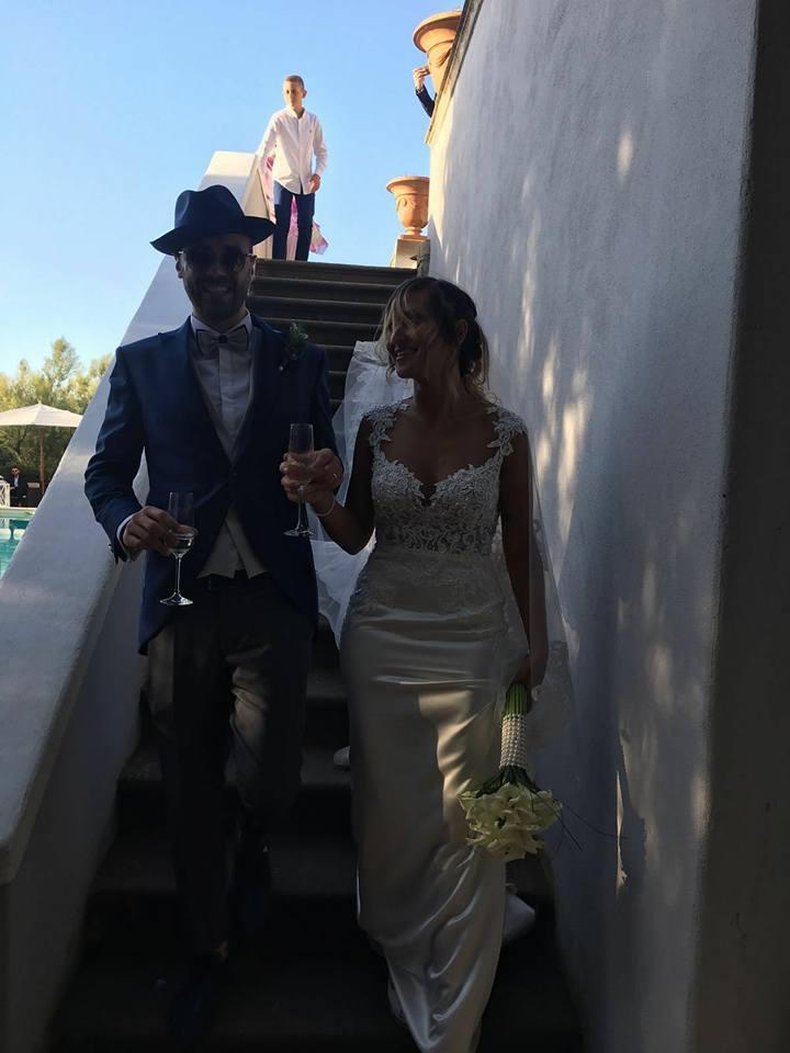 Matrimonio Porta Romana : Il capitano si sposa congratulazioni a gianluca e elena